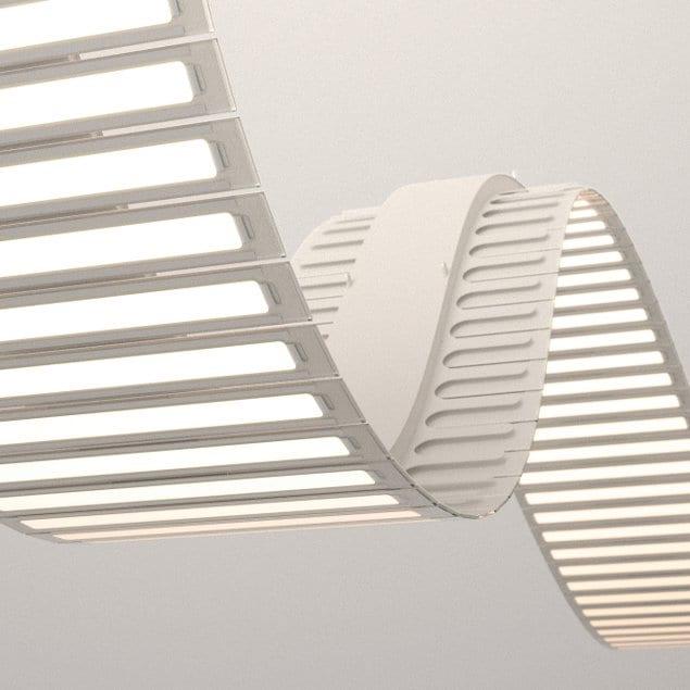 innovative und moderne OLED Lampen für kreative Lichtgestaltung in weiß