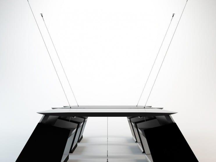 hängender besprechungstisch für moderne Büroräumeeinrichtung