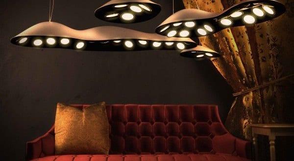 Raum- und Lichtgestaltung mit OLED-Leuchten