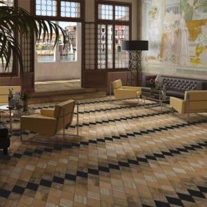 modernes wohnzimmer interior und moderne raumgestaltung mit holzfliesen woods adamant 7 freshouse