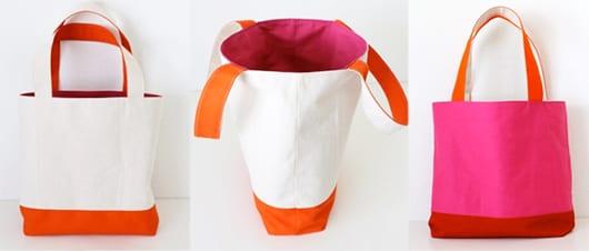 fantastische bastelidee und geschenkidee für DIY Stofftasche mit zwei Seiten