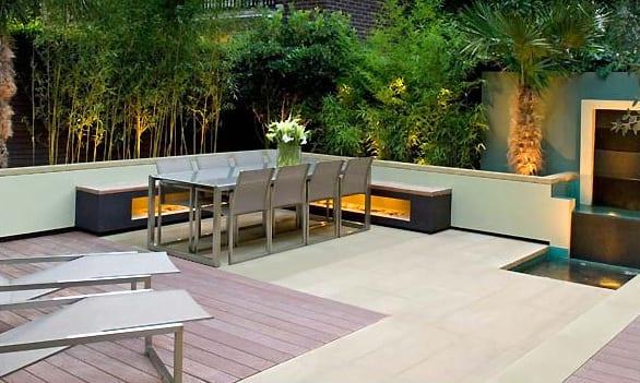 gartengestaltung mit sitzecke freshouse. Black Bedroom Furniture Sets. Home Design Ideas