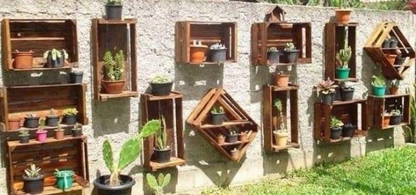 gartendeko stühle blumenkübel verwandeln pflanzen