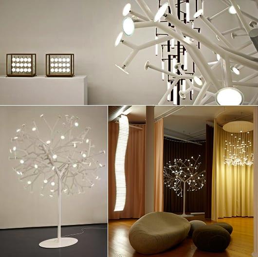 lixus Interior desogn mit modernen OLED Lampen für angenehmes Ambiente