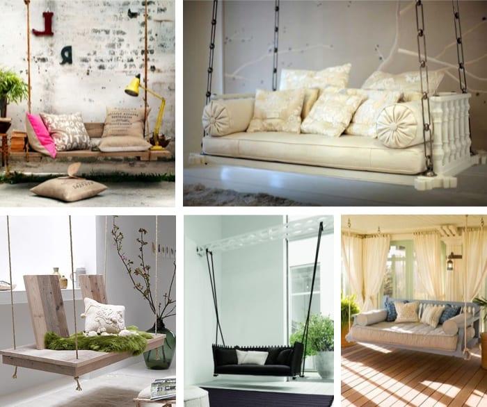 coole Idee für DIY Sofa-schaukel