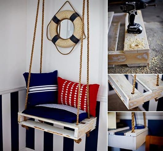 DIY Kindermöbel aus Paletten