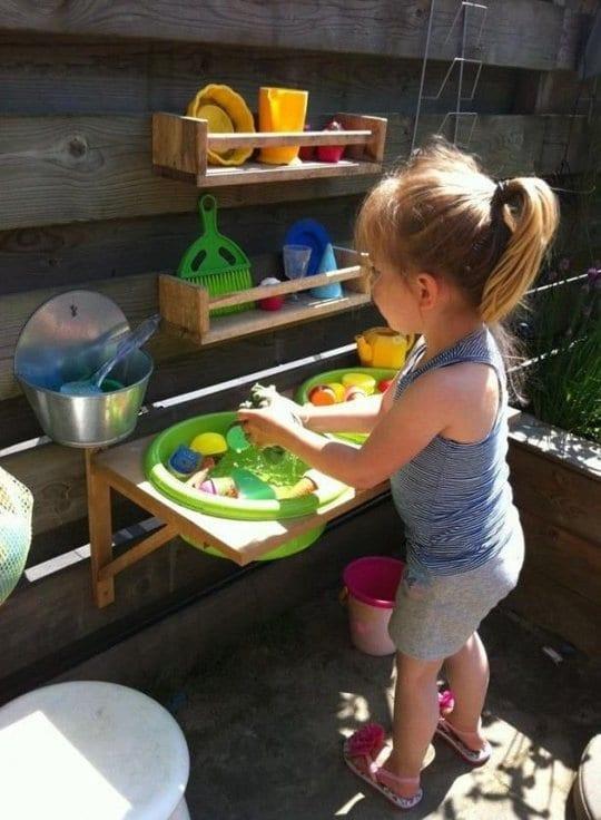 spiele im freien  für kleine kinder