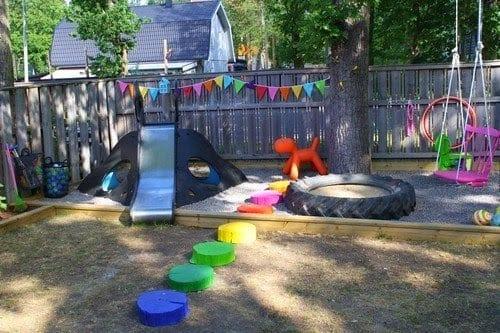 abenteuerspielplatz für kinder zum spielen im freien - freshouse, Garten ideen