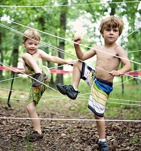 idee für kinderspiele im freien