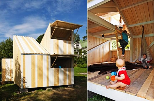 DIY Kinderspielhaus