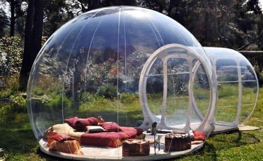 attrap_reves_bubble_hotel aus blasenzelten und als idee für schöne, Garten und Bauen