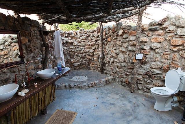 60 badezimmerideen für den außenbereich - freshouse, Hause ideen