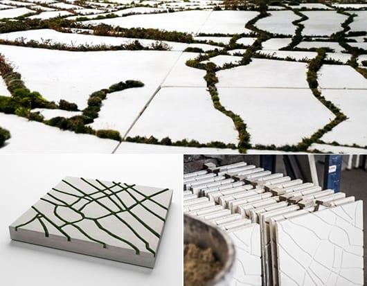 Gartengestaltung mit innovativen gartenfliesen aus beton