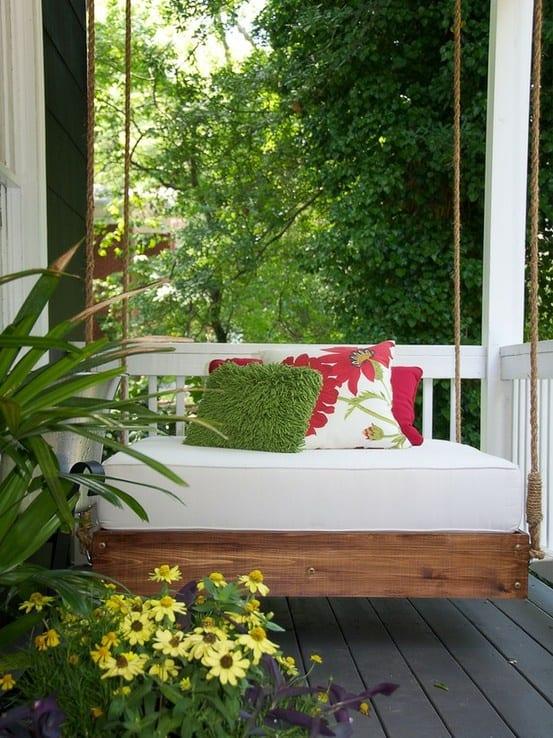 DIY Hängematte für die terrasse