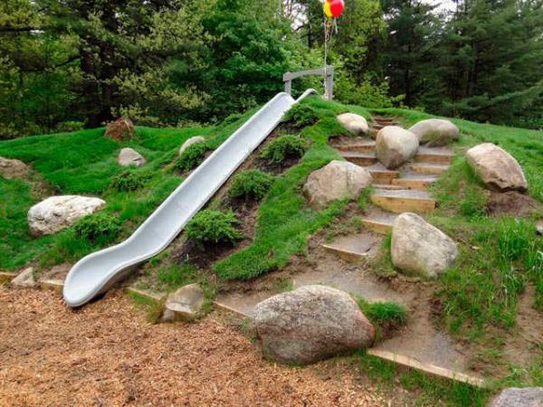 Gartengestaltung Mit DIY Gartentreppe Und Steinen