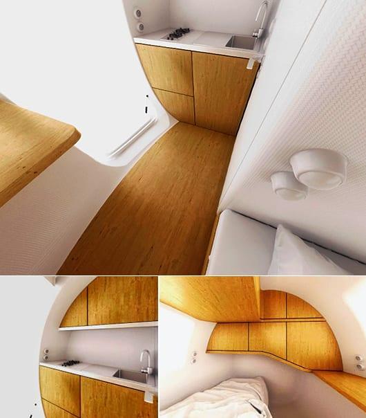kleine küche weiß mit waschtischplatte weiß und Küchenschrank holz