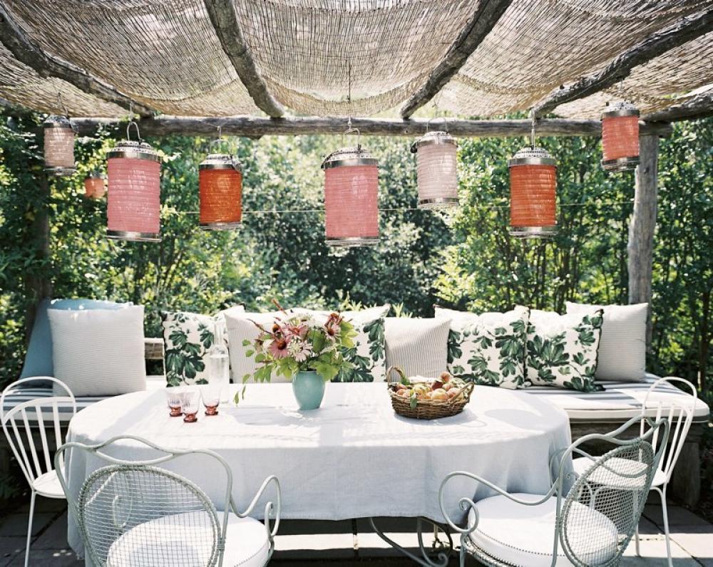 terrasse beschattung ideen
