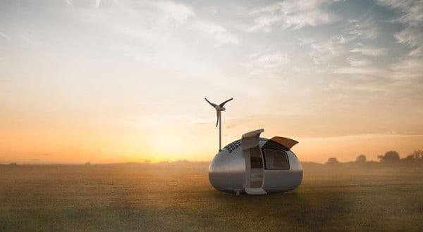 "Wohnmobil ""Ecocapsule"" – das mobile Niedrigenergiehaus"