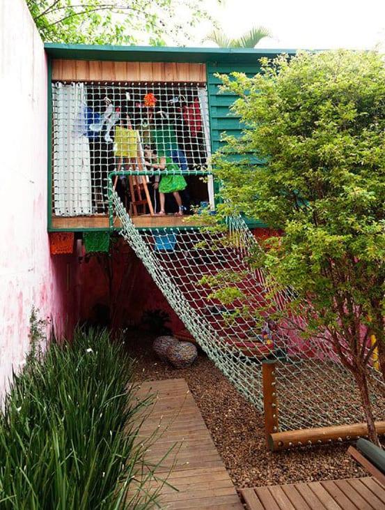 DIY Spielhaus für kinder im garten