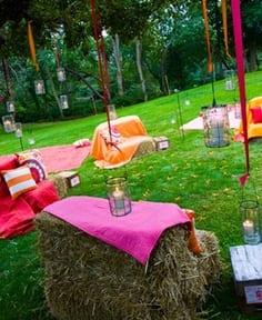 coole gartenparty mit DIY Gartenmöbeln