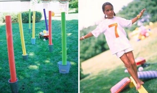 outdoor spielplatz für kinder selber gestalten