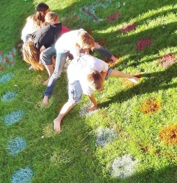 kinderspiele idee für outdoor spielplatz