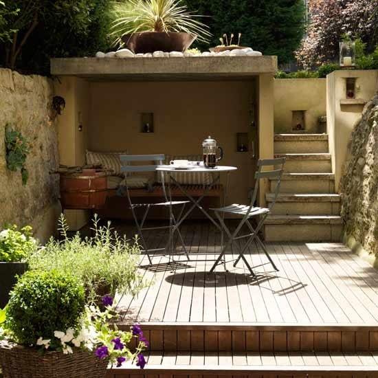 Kleines wohnzimmer drau en gestalten freshouse for Garten einrichten