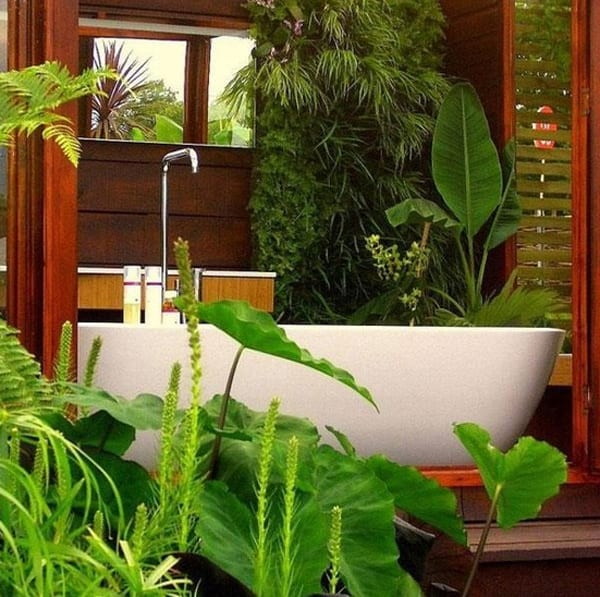 luxus badezimmer holz mit badezimmerspiegel und waschtisch holz