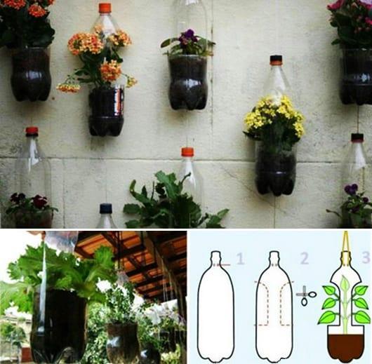inspiration für DIY Blumentöpfe und DIY Wanddeko