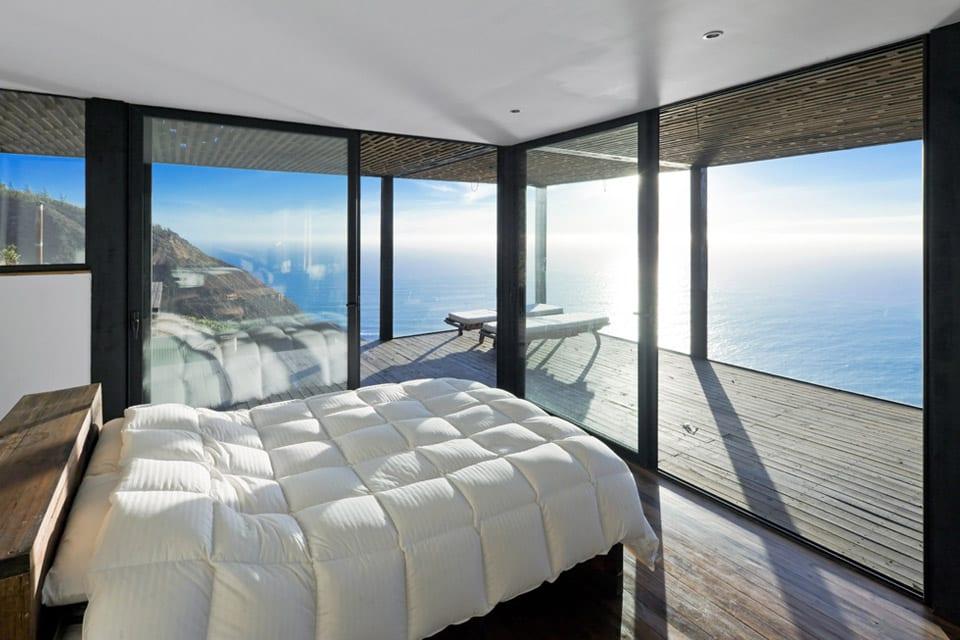 kleines Schlafzimmer einrichten mit QuinSize bett