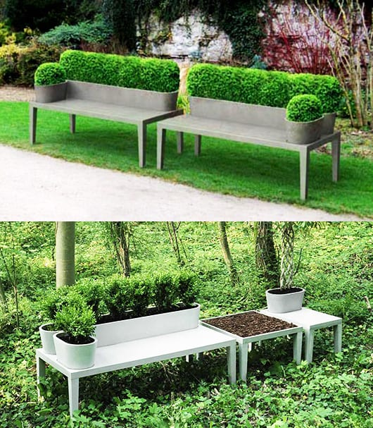 beton im garten eine moderne gartengestaltung freshouse. Black Bedroom Furniture Sets. Home Design Ideas