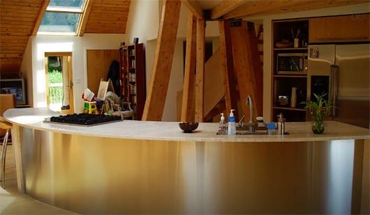 Idee Für Küche Einrichtung Mit Holz