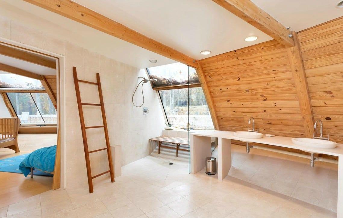 badezimmer inspiration für moderne badezimmer gestaltung mit Dusche und Waschtisch für zwei