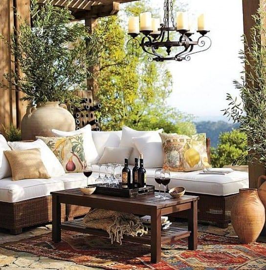 design#5001210: terrasse aus holz gestalten gemutlichen ... - Kleine Gemutliche Wohnzimmer