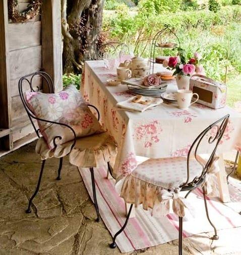 Kleines wohnzimmer drau en gestalten freshouse - Romantisch idee ...