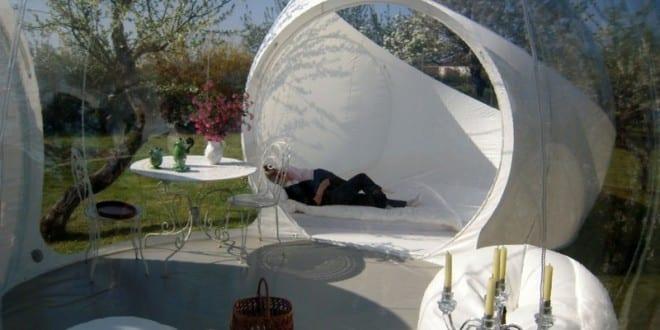 Sch ne gartenidee mit bubble pavillon freshouse for Gartenidee magazin