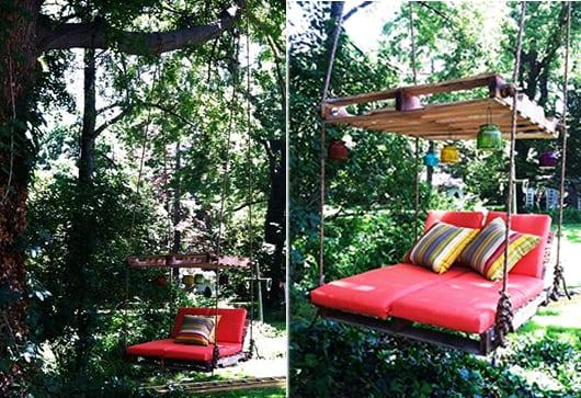DIY Gartenmöbel aus Paletten