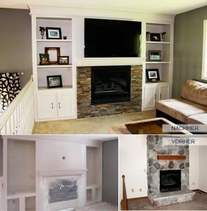 zimmer renovieren kamin aus naturstein verkleiden freshouse. Black Bedroom Furniture Sets. Home Design Ideas