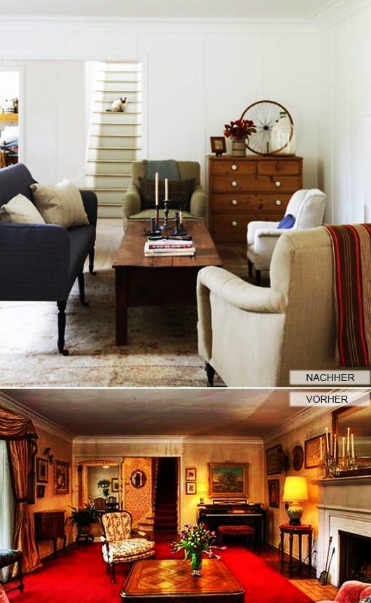 zimmer renovierung und dekoration gardinen modern wohnzimmer schwarz weis, renovieren - 33 ideen und tipps - freshouse, Innenarchitektur