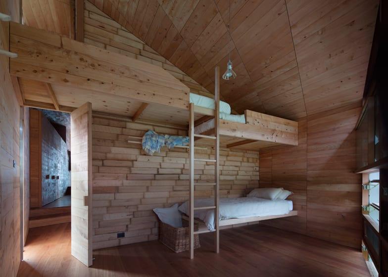 kinderzimmer einrichten mit etagenbett aus holz