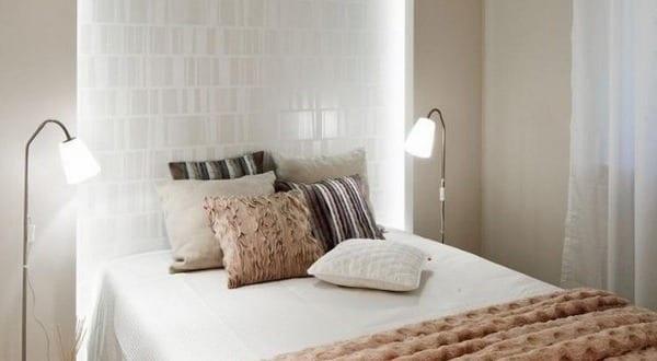 coole schlafzimmer gestaltung mit wandbeleuchtung indirekt. Black Bedroom Furniture Sets. Home Design Ideas