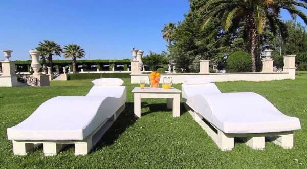 Garten- und Gastronomiemöbel aus Paletten