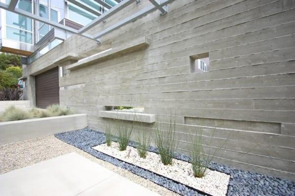gartenmauer als gestaltungselement - freshouse, Garten Ideen