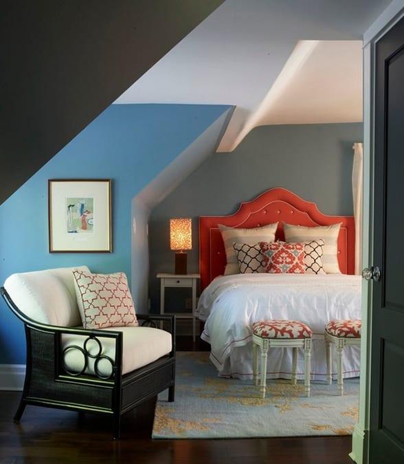 Schlafzimmer Mit Dachschräge Gemütlich Gestalten