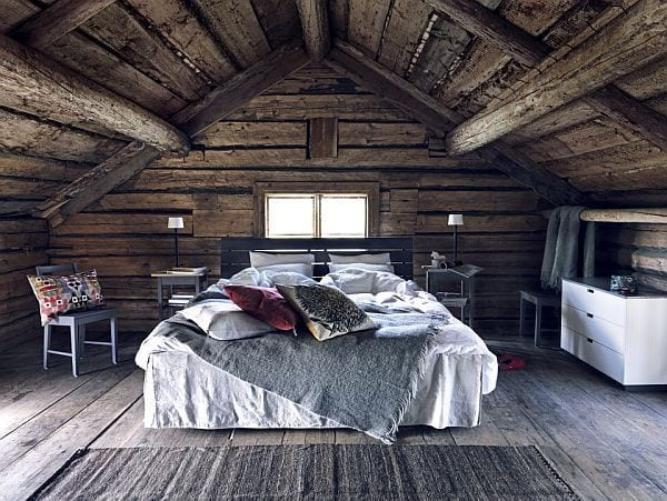 Schlafzimmer modern weiß holz  Schlafzimmer mit Dachschräge gemütlich gestalten - fresHouse