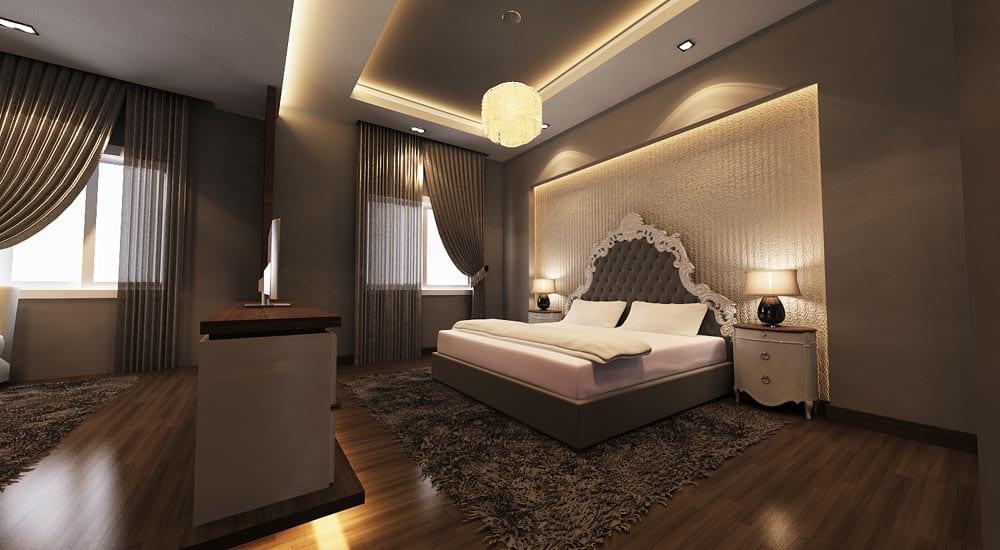 schlafzimmer inspiration für moderne schlafzimmer einrichtung und gestaltung mit indirekter beleuchtung