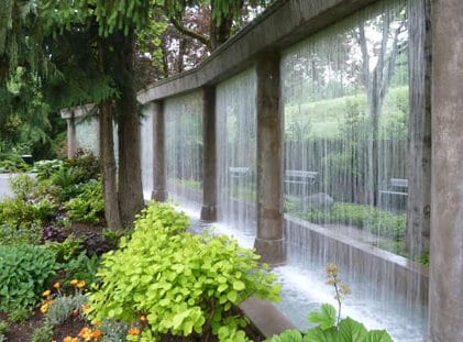 schöne garten idee für traumgarten mit wasserfallwand als traumgarten