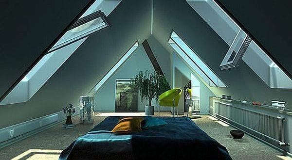 2017 Schlafzimmer Inspiration Dachschräge