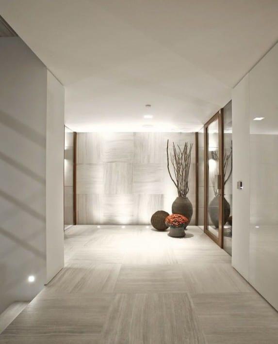 idee für modernes wohnen und schickes interior design mit indirekter beleuchtung am boden