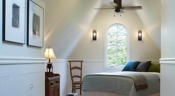modernes schlafzimmer dachschräge als kleine schlafzimmer ideen, Hause deko